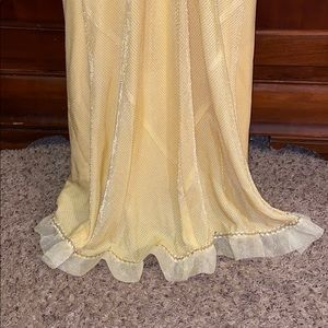 De Laru Collection Dresses - BANANA COLOR FORMAL DRESS NWT!